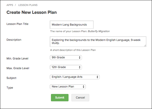 how to lesson plan