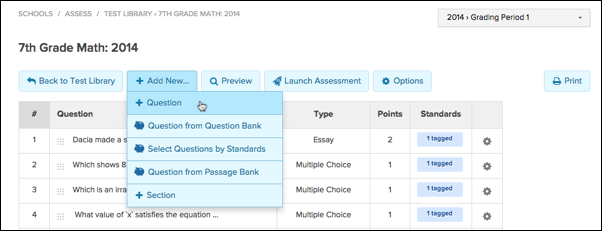 Create Equation Entry Question Engrade Pro. Hover Over The Add New Button And Select Question From Dropdown Menu. Worksheet. Tapped Worksheet Questions At Clickcart.co